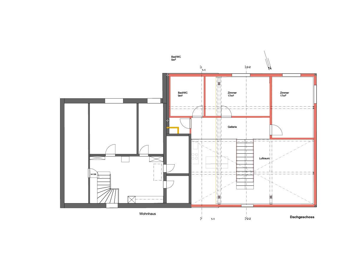 raumquadrat gmbh architektur und design umnutzung scheune littenheid. Black Bedroom Furniture Sets. Home Design Ideas